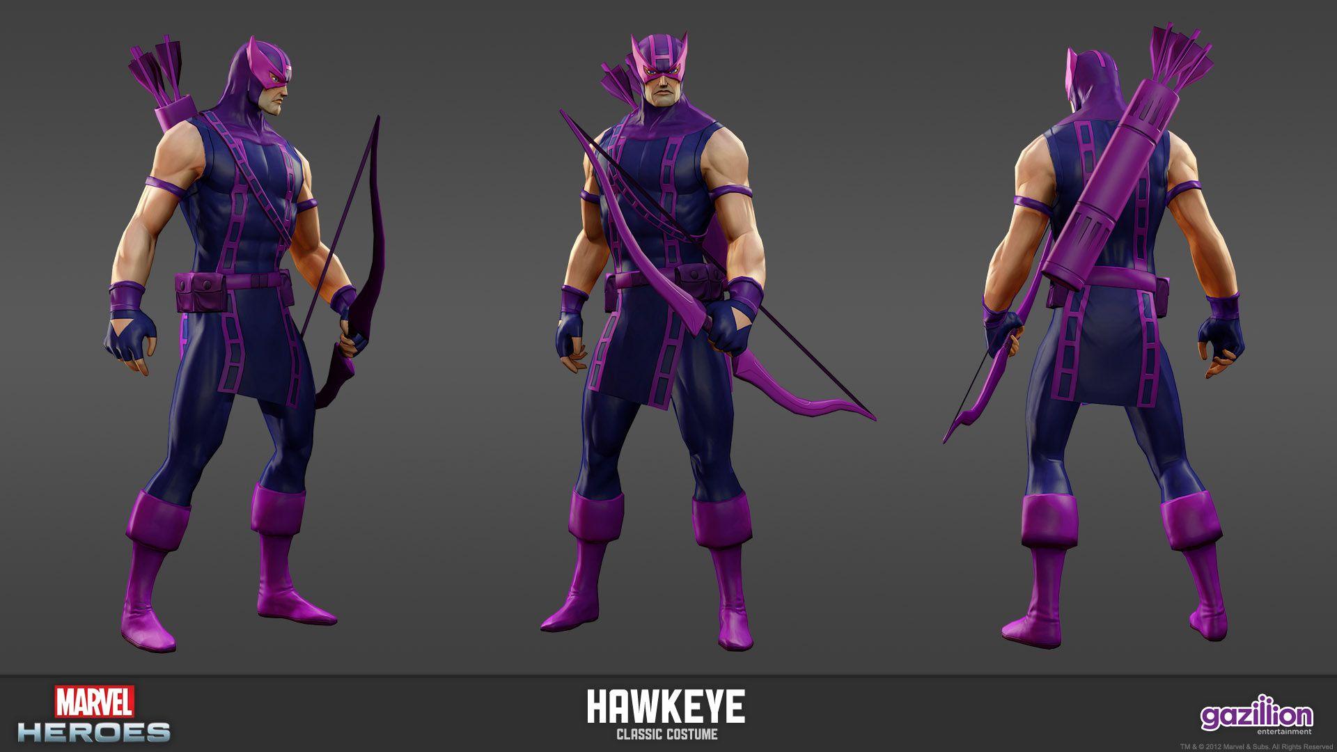 Hawkeye Classic Costume For Sale – Galleria di immagini di