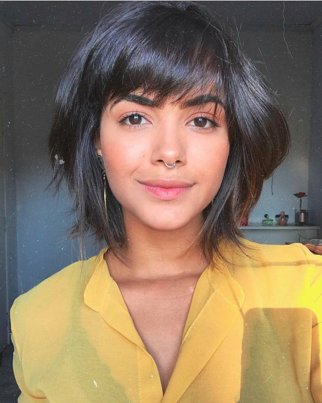 Cute Short Bob Haircut for female, New Haircut Ideas for ...