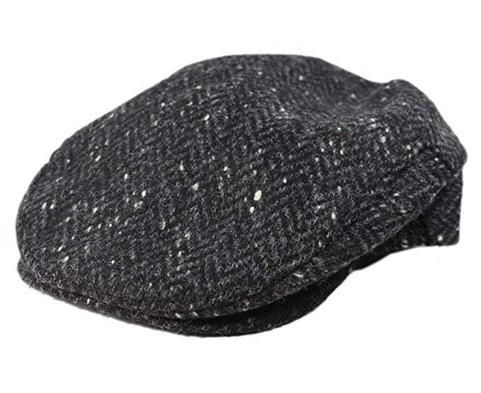 100% Handmade Handwoven Tweed. Newsboy  Cap.Green Herringbone.made by Hanna  Hats Review  d798957fcfff