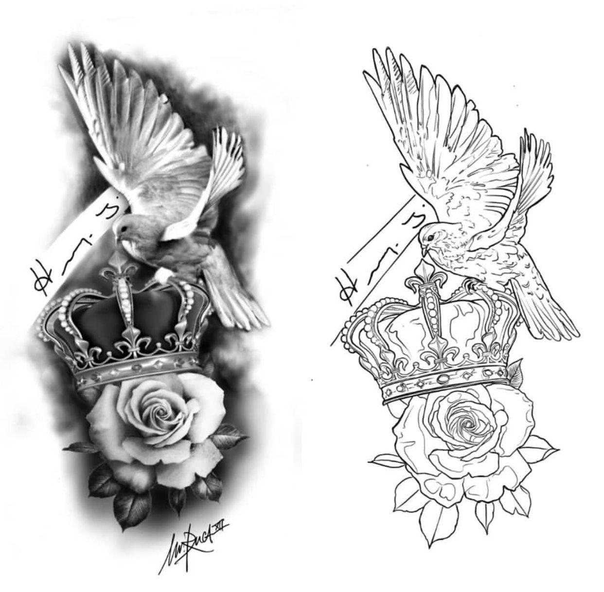 Stencil Floral Tattoo Sleeve Tattoo Design Drawings Tattoo Art Drawings
