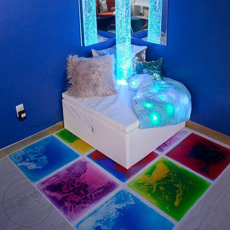 Gel Floor Tiles Sensory Room Tools For Visual Processing