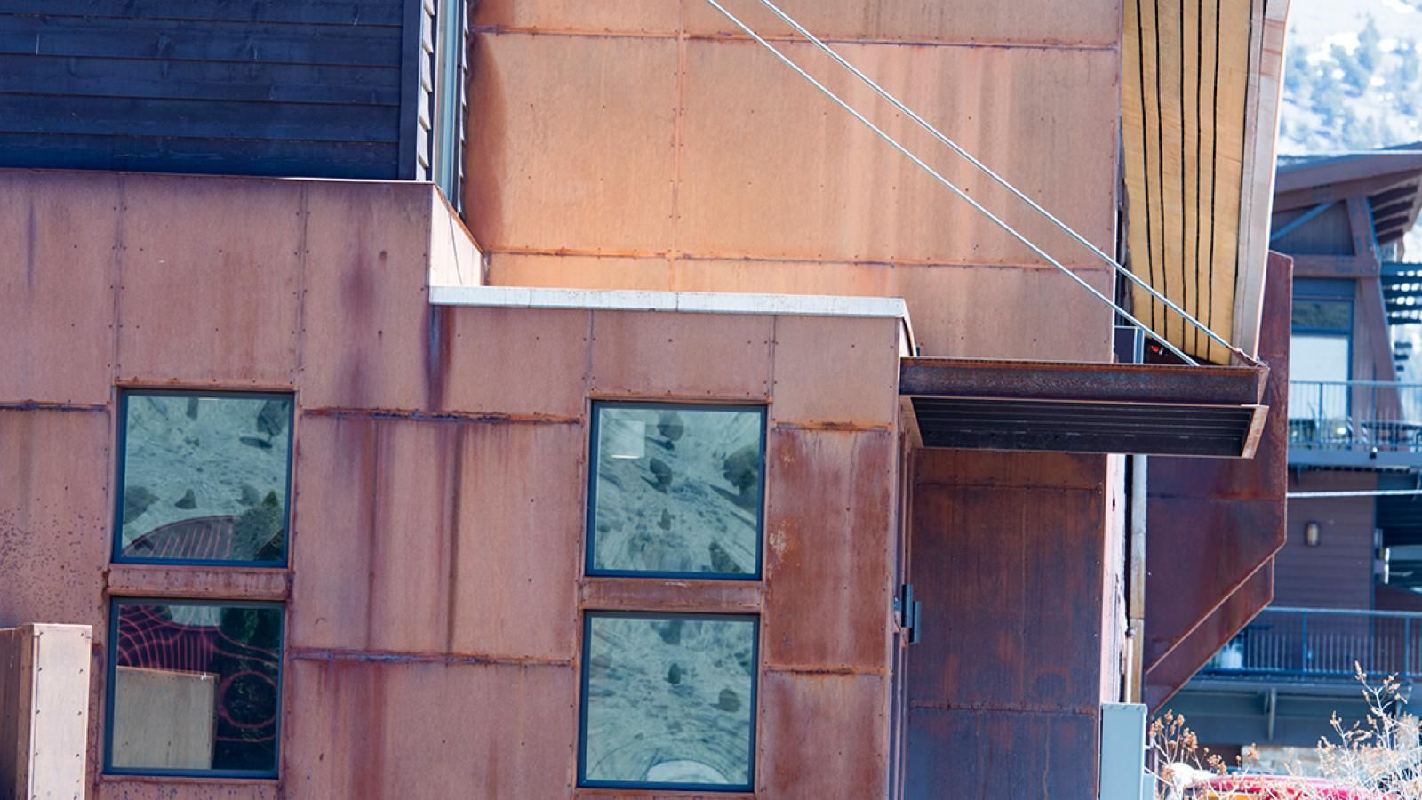 Cold Rolled Weathering Steel Rustic Flat Wall Siding Rustic Metal Weathering Steel Rustic