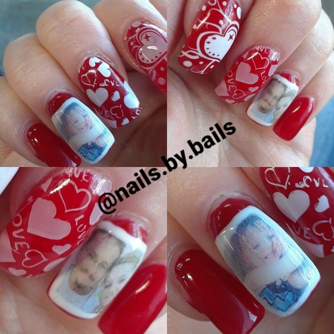 Custom nail decals #nailsbybails #gelnails #renonails ...