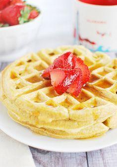 Coconut Flour Waffles - my favorite gluten-free waffle recipe!