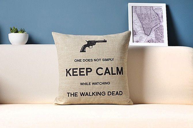 Printed Pillow Sofa Cushion Cover