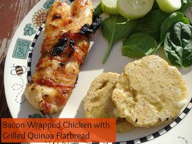 We Like Making Our Own Stuff: Grilled Quinoa Flatbread