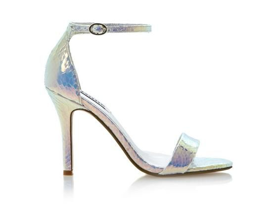 723f0af2f4d5 DUNE LADIES HYDRO - Two Part Ankle Strap Sandal white by Dune London   dunelondon  dune  heels  shoes  pastel  sandal  metallic  summer  fashion   style