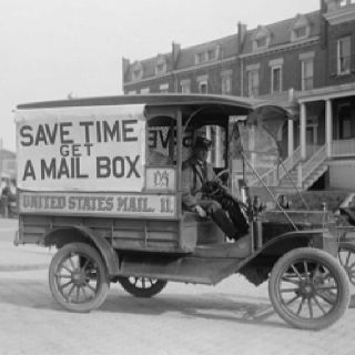 Old Mail Truck Didn T Know There Was A Time When There Was Not A