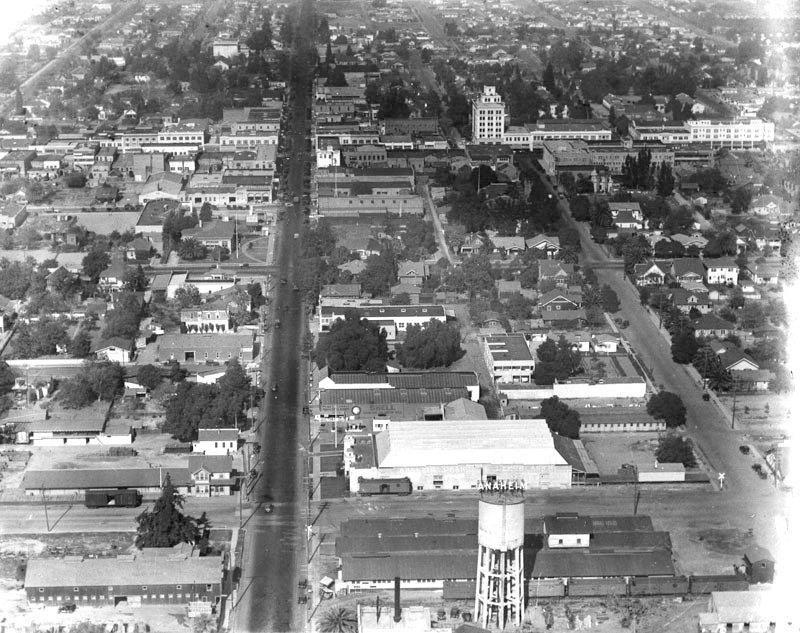 1924Anaheim Aerial California history, San luis obispo