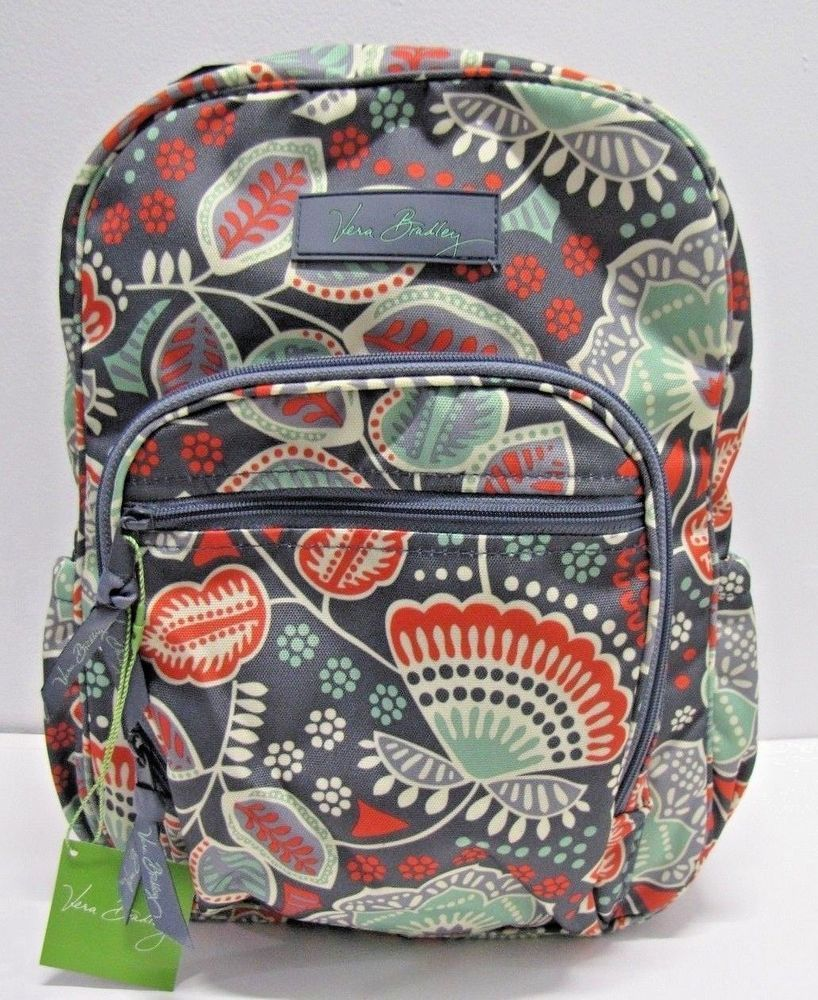 700a36d03a Vera Bradley Lighten Up Mini Campus Backpack In Nomadic Floral  VeraBradley   Backpack