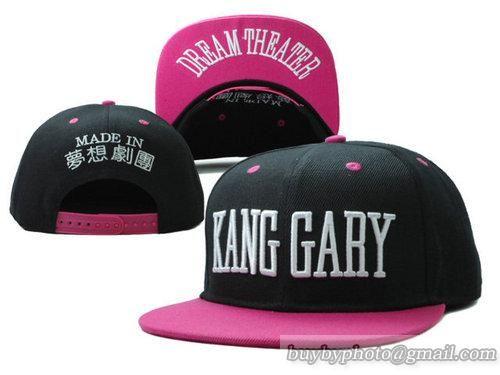 KANG GARY SNAPBACK BLACK PINK