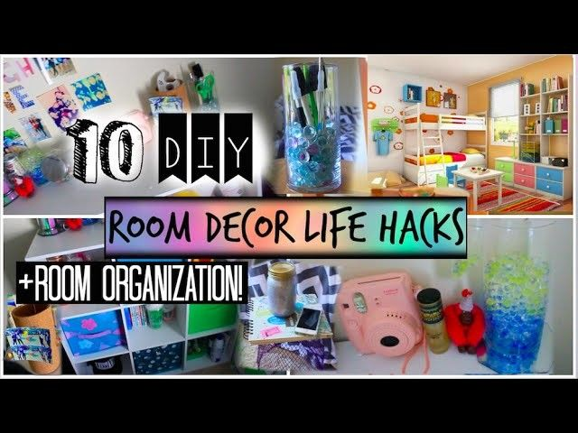 10 Diy Room Organization And Storage Ideas Room Decor Life Hacks Room Diy Room Organization Room Organization Diy