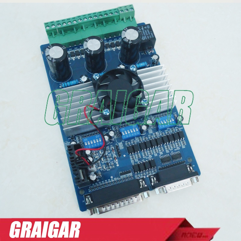 75.00$  Buy here  - CNC 3 AXIS Stepper Driver Board Controller TB6560 3.5A  step motor driver