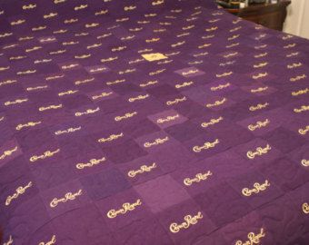 Crown Royal Quilts Made to Order Custom Quilt by LuluBelleQuilts ... : quilt made from crown royal bags - Adamdwight.com