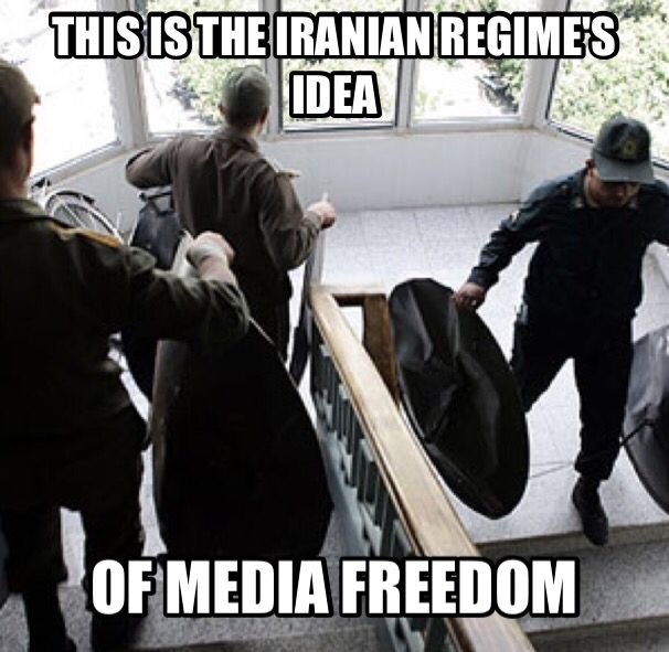 Media Freedom And Using The Internet And Social Media In Iran Are All Banned Social Media Freedom Memes