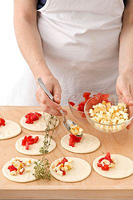 Panzerotti al forno - Scuola di cucina - Donna Moderna | Ricette ...