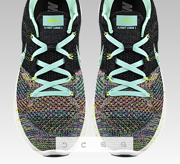 Love But Would Need To Try These On First Nike Flyknit Lunar 3 Nike Id Multi Base Artisan Teal Laces Inner And Swoo Nike Flyknit Lunar 3 Nike Nike Flyknit