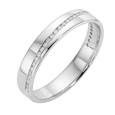 Platinum & diamond ring -£1199 Ernest Jones