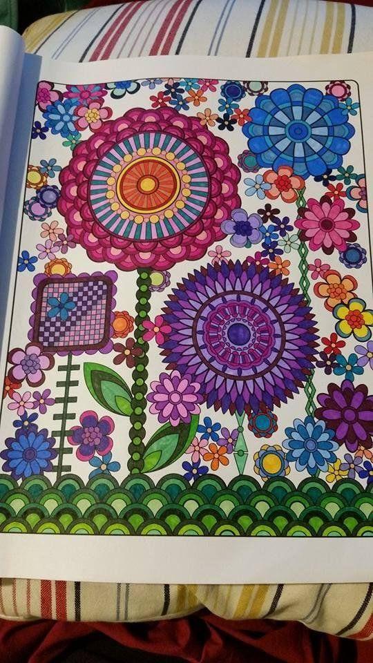 Flower Designs Coloring Book Volume 1 Jenean Morrison By R Stanley
