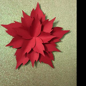 PDF Paper Flower, Paper Flower Template, Giant Paper Flower Template, Flower Template, DIY, Base and Instruction Including #giantpaperflowers