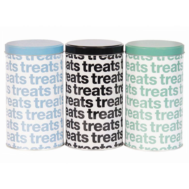 Store Them In Pretty And Convenient FDA Approved Harry Barker Helvetica  Treat Tins. They Pair Beautifully With Our Helvetica Food Storage ...