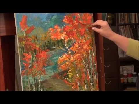 Palette Knife Painting - Acrylic Painting Technique