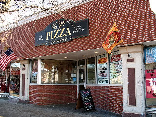 My favorite pizza in my hometown of Sayville, Long Island