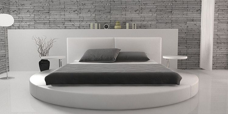 Bett Rund Die Allgemeine Auffassung Ist Dass Der Bett Rund Ist