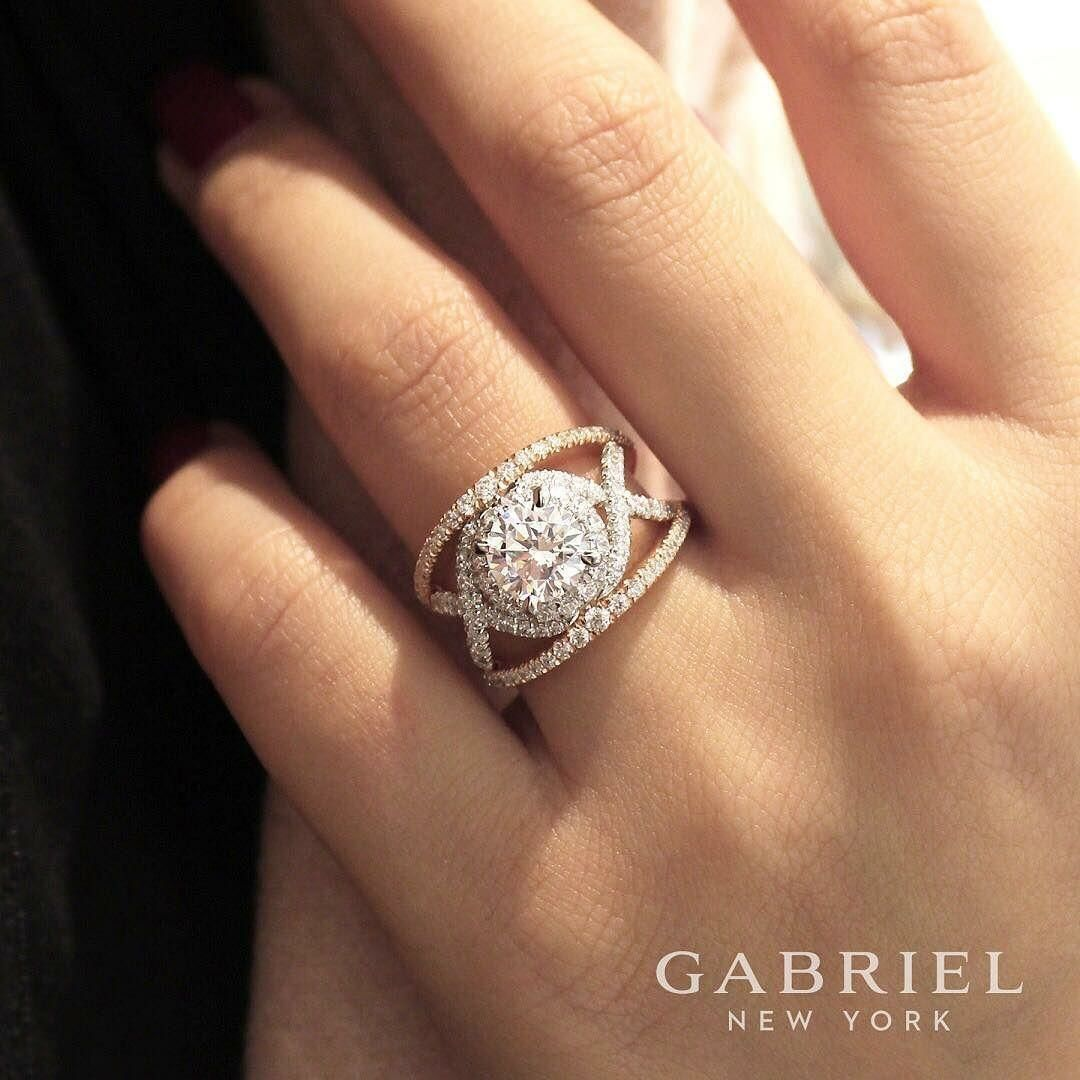 Gabriel Co Exclusively At Atlanta West Jewelry 770 489 8600 Atlantawes Moissanite Engagement Ring White Gold Pinky Signet Ring Leaf Engagement Ring