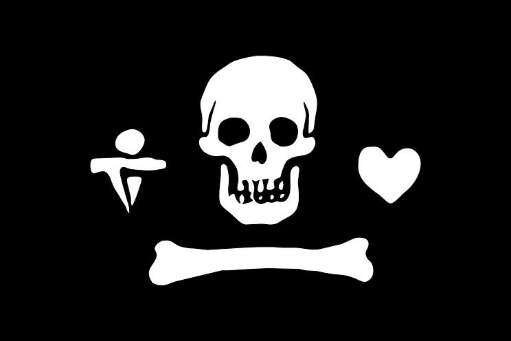 Pirate Flags Google Images Drapeau Pirate Pirate Corsaire