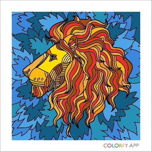 My first Colorfy!