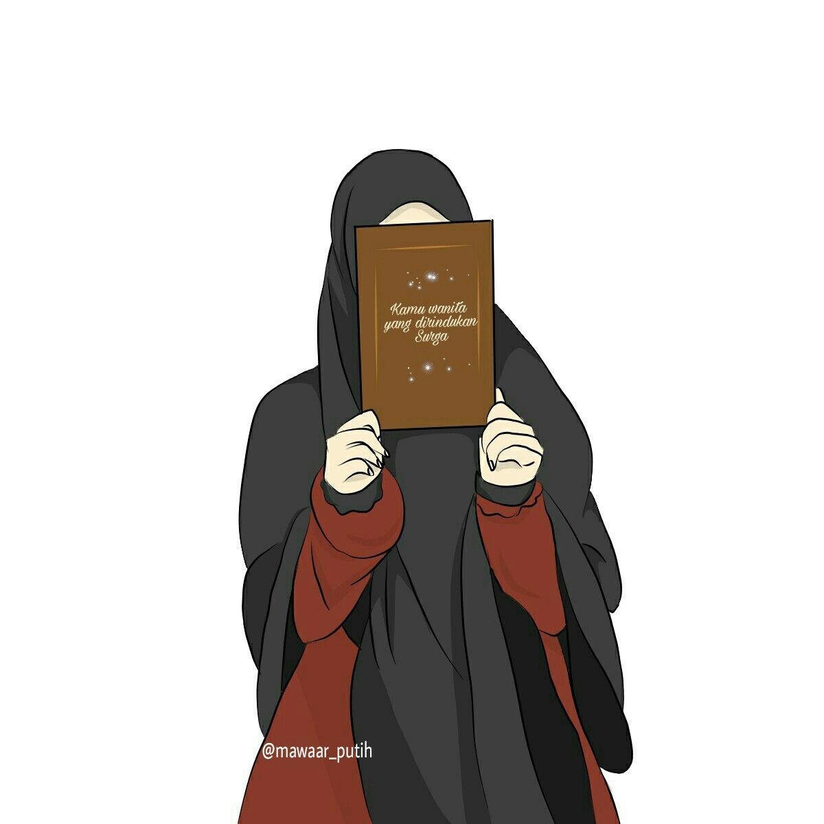 I Love Hijab Hfz Kartun Gambar Animasi