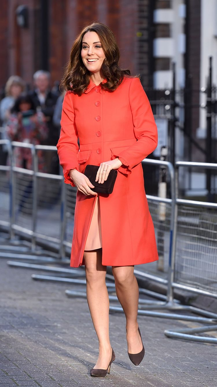 life made kate middleton in our boden red lena coat. Black Bedroom Furniture Sets. Home Design Ideas