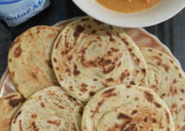 Resep Roti Canai Kuah Kari Roti Maryam Roti Pratha Oleh Anysyah92 Resep Rotis Resep Roti Resep