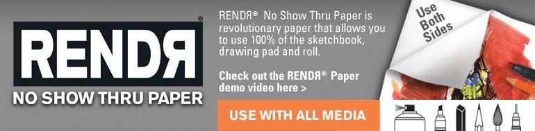 RENDR No Show Thru Paper