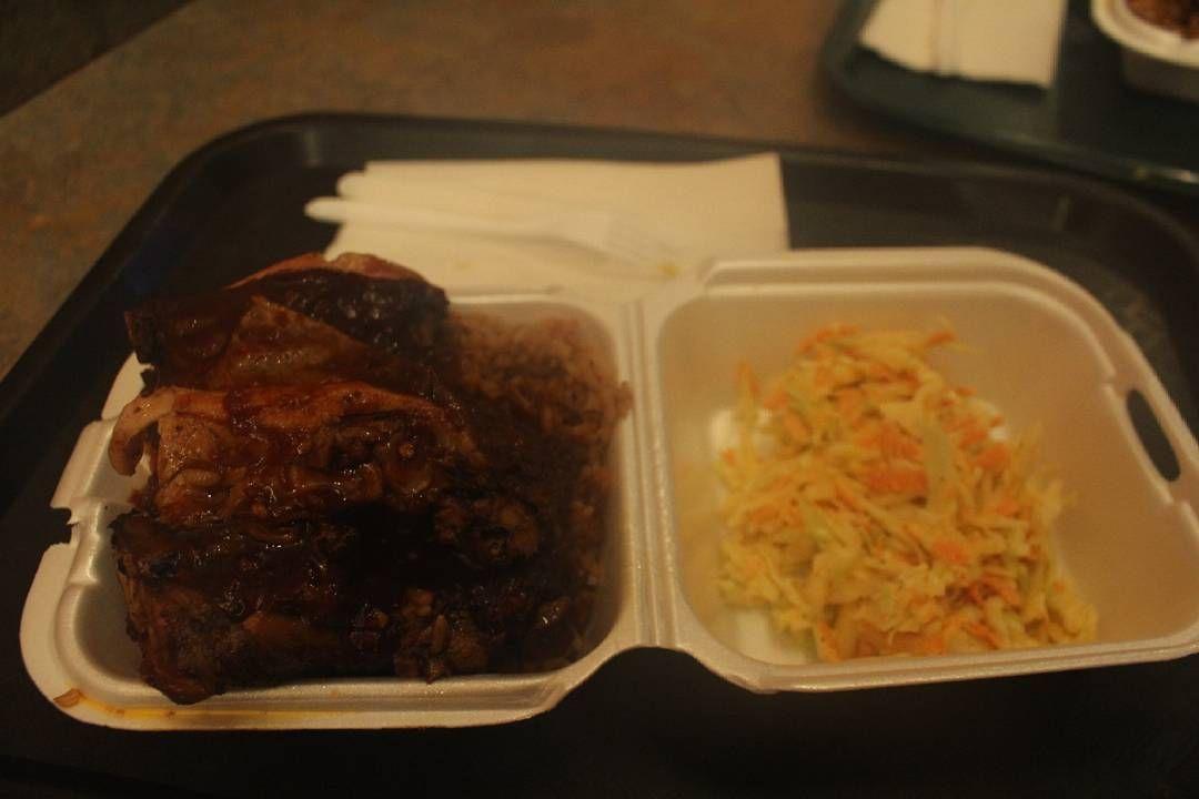 2016.01.22 자메이칸푸드 야만야만 맛있다!! - #Toronto#토론토#자메이카#먹스타그램#jamaica#jamaicanfood #jerkchicken #절크치킨#yummy#foodie by hye_____won