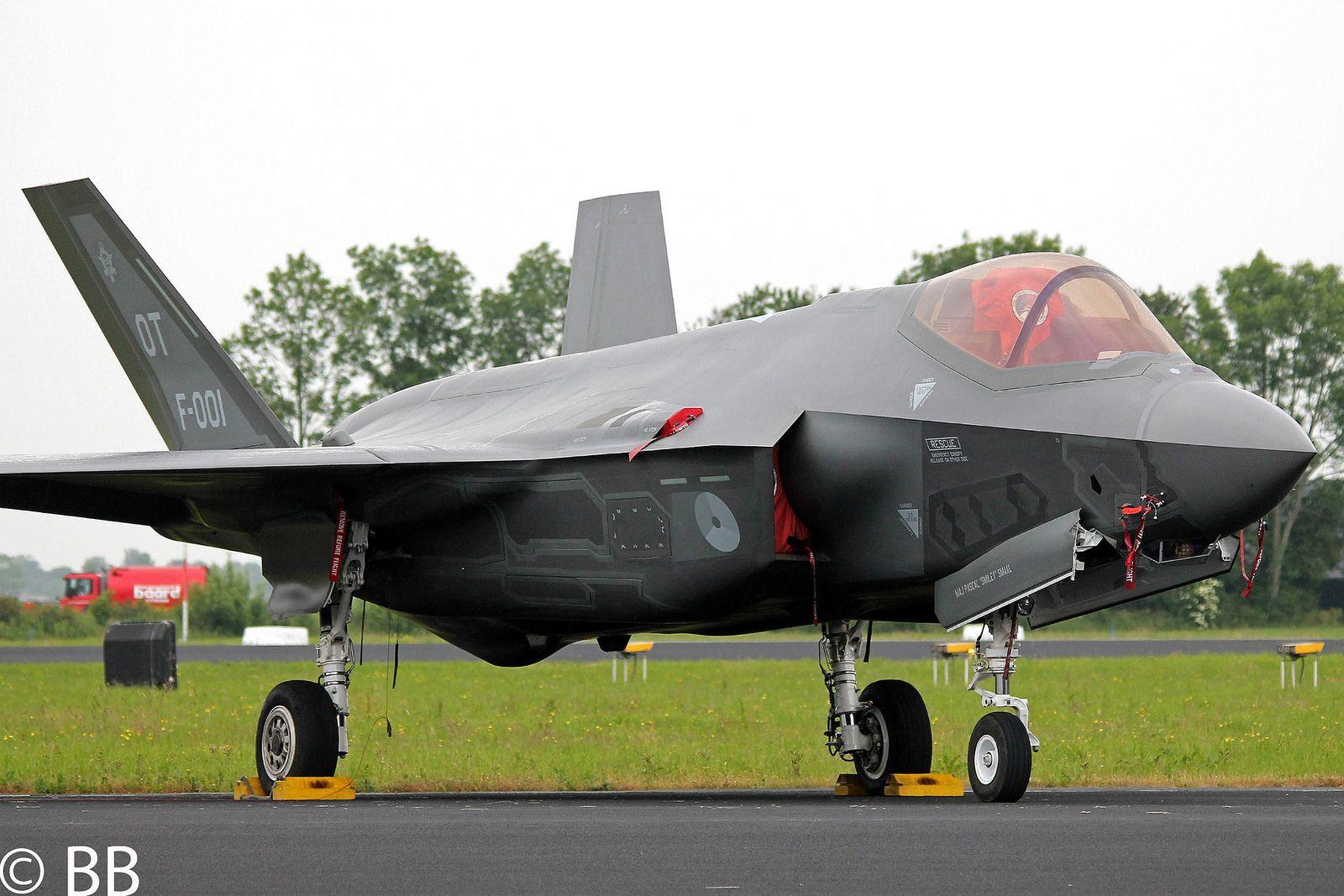 16-06-11, Royal Netherlands Air Force, F-35 Lightning II, F-001, Luchtmachtdagen, Vliegbasis Leeuwarden
