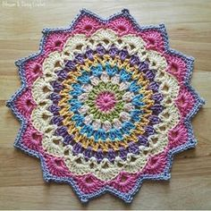 39 best Ideas crochet mandala pattern free doilies dream catchers #crochetmandalapattern