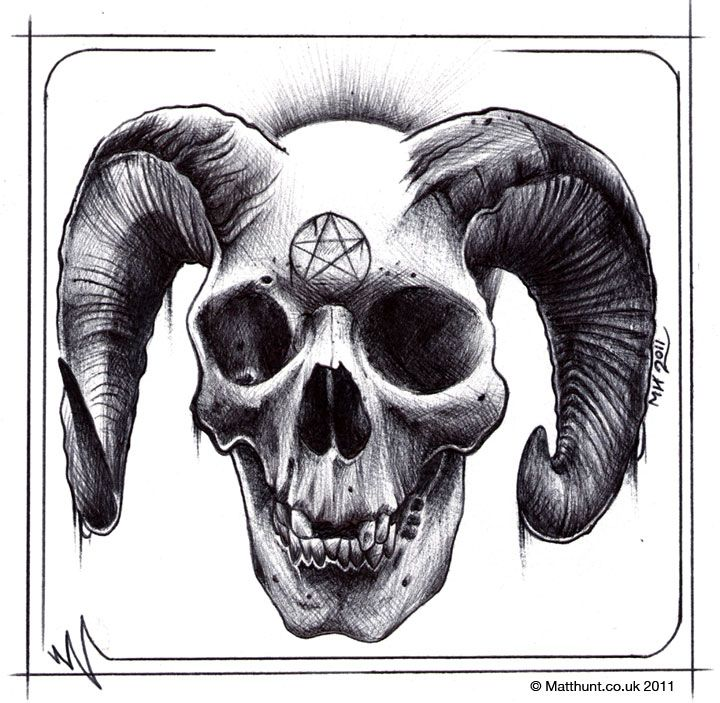 ram horns | Ram Horns Tattoos | Villain inspiration ...
