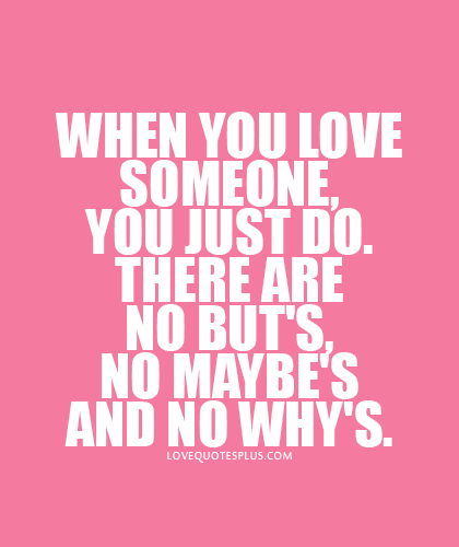 When Someone Loves You Quotes Inspiration When You Love Someone Quotes  Home » Picture Quotes » Love » When