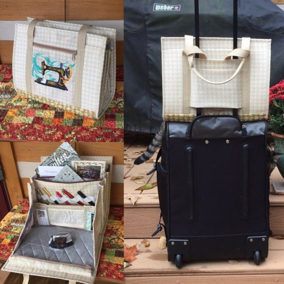 The Quilters Ultimate Carry-All Bag | Quilt-Tipps, Tipps und ...
