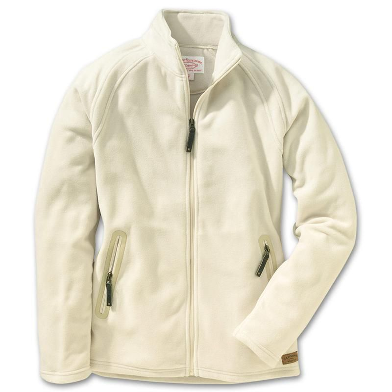 Cream Fleece Jacket - JacketIn