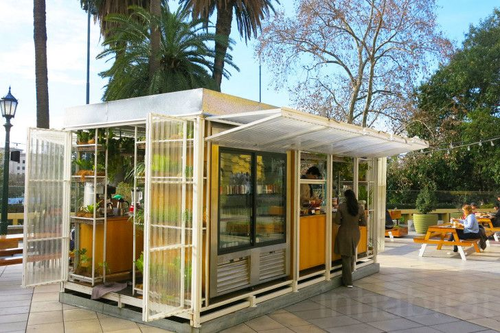 Delightful pop-up Camping restaurant brings the great outdoors to busy Buenos Aires... #thegreatoutdoors