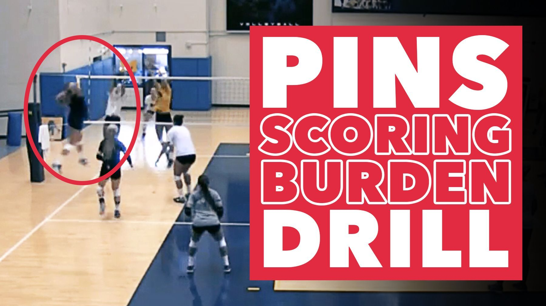 Drill That Forces Pins To Carry Scoring Burden The Art Of Coaching Volleyball Coaching Volleyball Drill Volleyball Drills