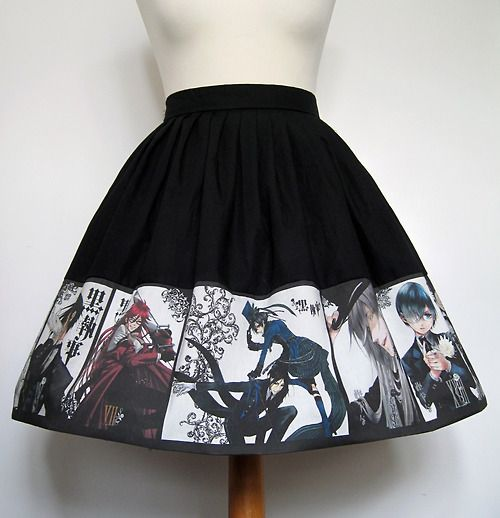 SO pretty!! imagine what the characters would think if they saw their faces on your skirt...? *devilish smirk*