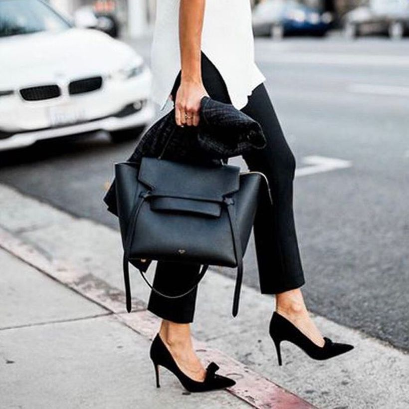 Leather Tote Bags For Work Outfits