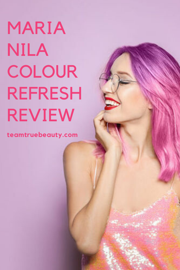 Keep Your Hair Color Fresh: Maria Nila Colour Refresh Review