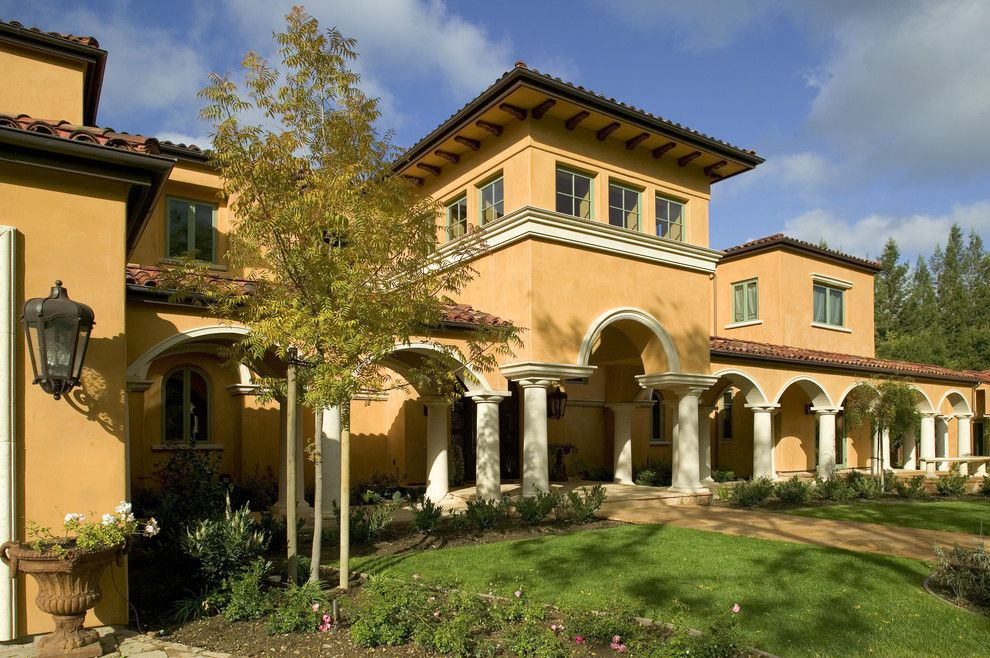 Tuscan Landscaping Ideas Tuscan House Colors Ideas