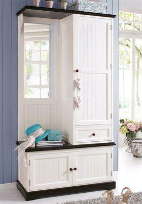kompaktgarderobe home affaire im online shop von baur versand wohnung. Black Bedroom Furniture Sets. Home Design Ideas