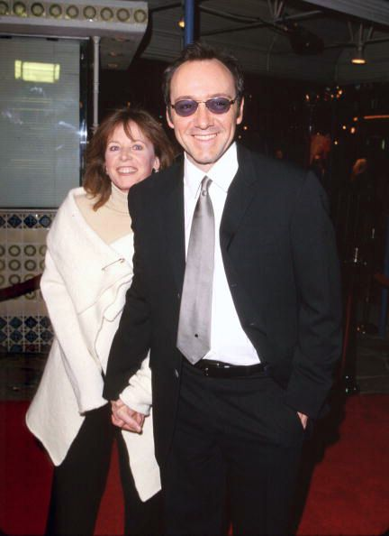 Kevin Spacey • Kevin Spacey and Dianne Dreyer adorning the red...